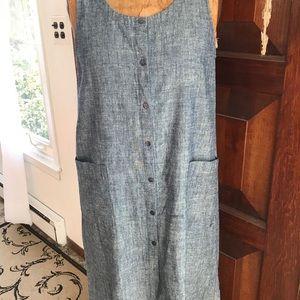 Eileen Fisher Hemp Organic Cotton Dress